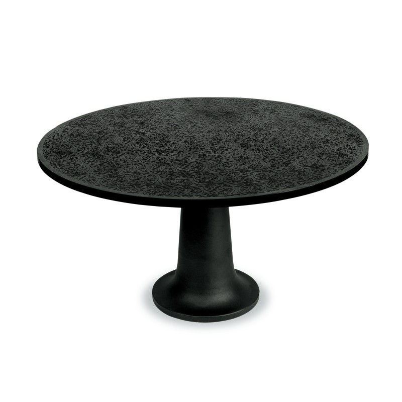 Outdoor Furniture: Resin: Atmosphere Round Outdoor Dining Table