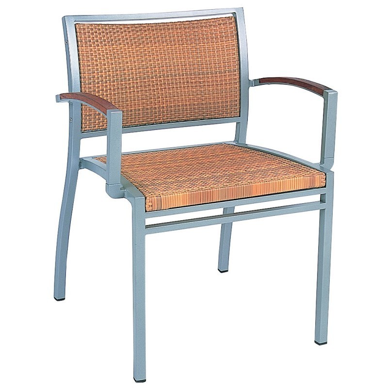 Outdoor Folding Chair with Top: Kettal Kore Stacking Outdoor Dining Chair