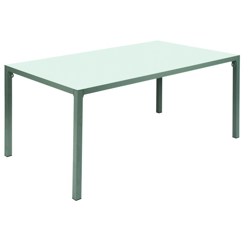 Via Rectangle Outdoor Dining Table 83 inches