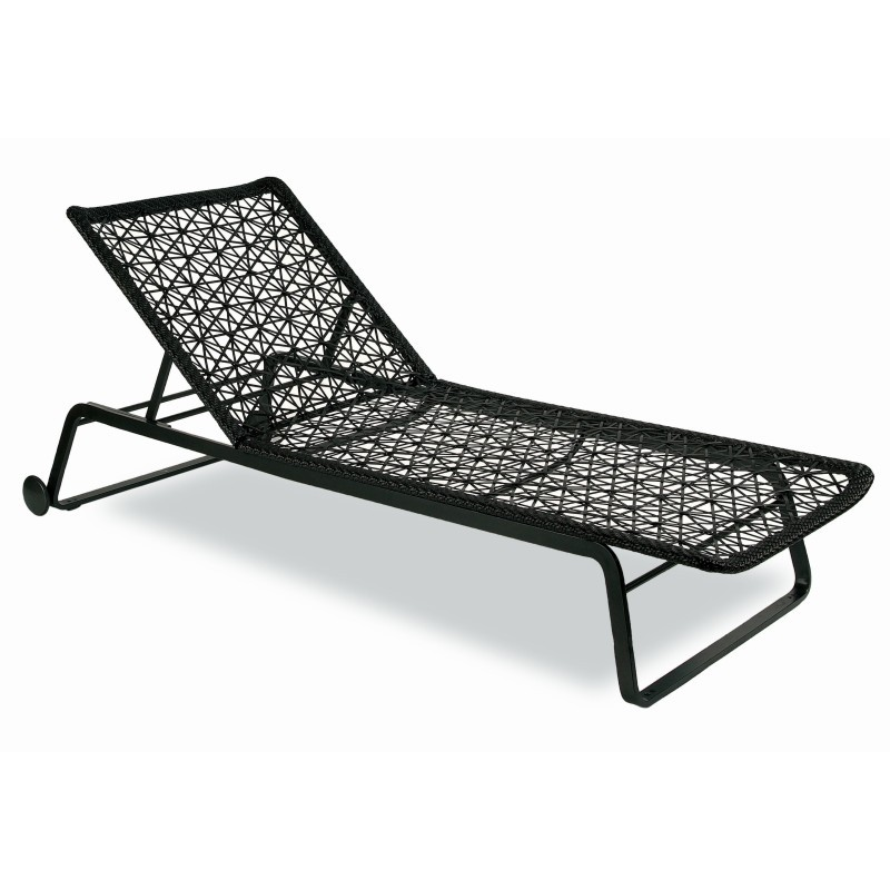 Maia Outdoor Adjustable Chaise Lounge : Patio Chairs