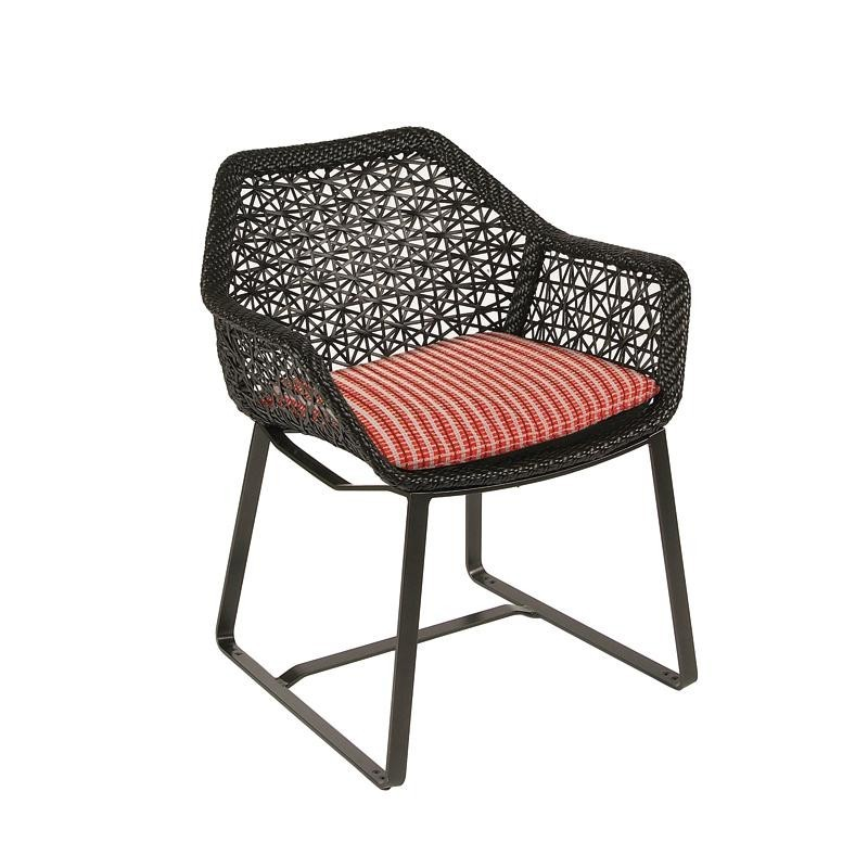 Outdoor Furniture: White Patio Furniture: Maia Outdoor Chair