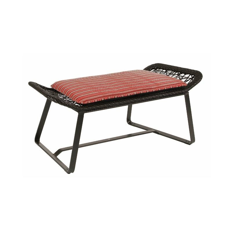 Outdoor Furniture: Footstools: Maia Outdoor Ottoman