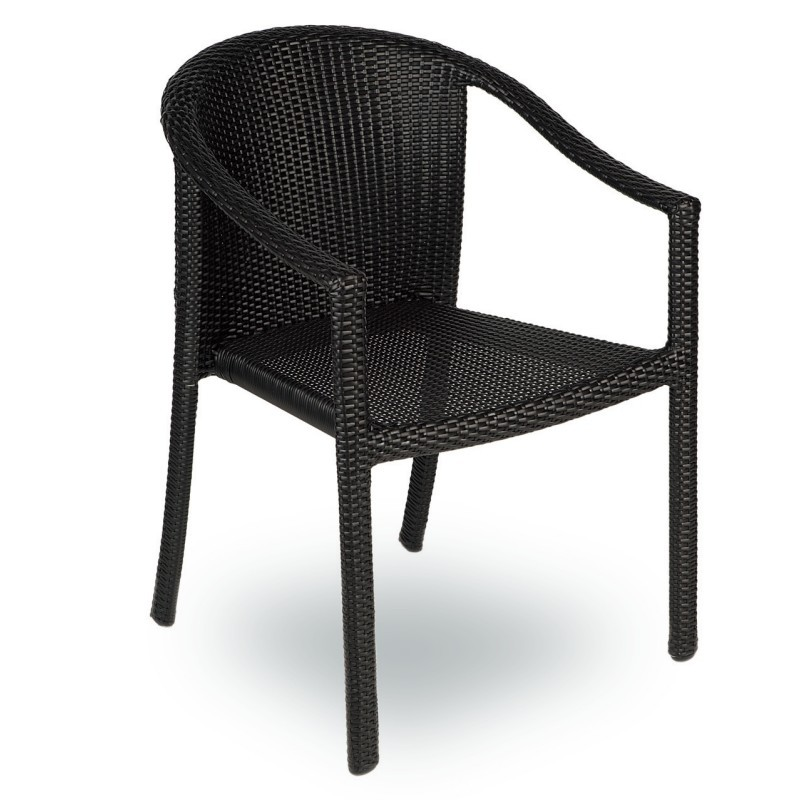 Nova Outdoor Dining Chair Stackable : Dining Chairs