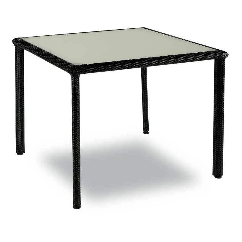 Patio Dining Tables Nova Square Patio Dining Table 35 Inch