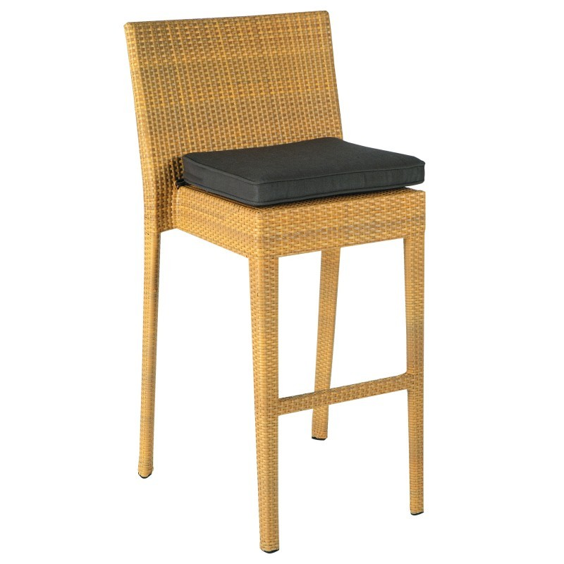 Prisma Outdoor Barstool : Patio Chairs