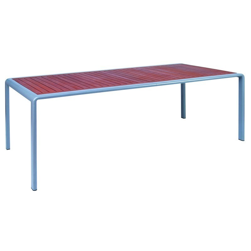 Outdoor Furniture: Rectangle Dining Tables: Soft Rectangular Dining Table Extendable 83-108 inches