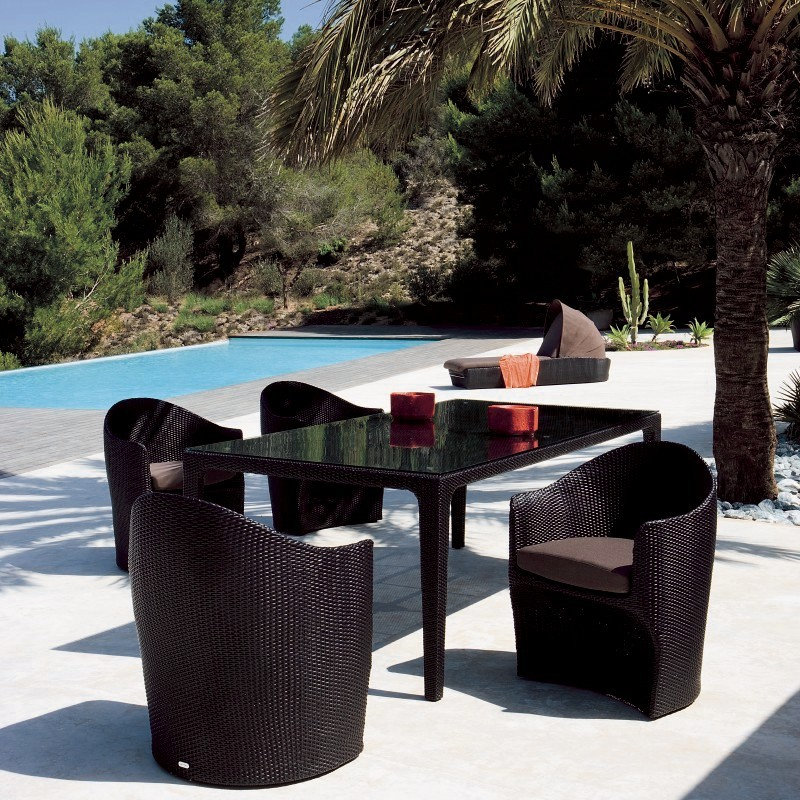 Venezia Outdoor Dining Set 7-Piece : Patio Sets