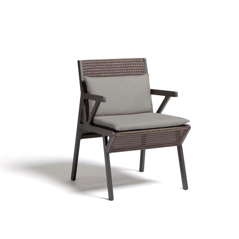 Outdoor Furniture: Kettal: Vieques Collection: Vieques Modern Outdoor Arm Chair