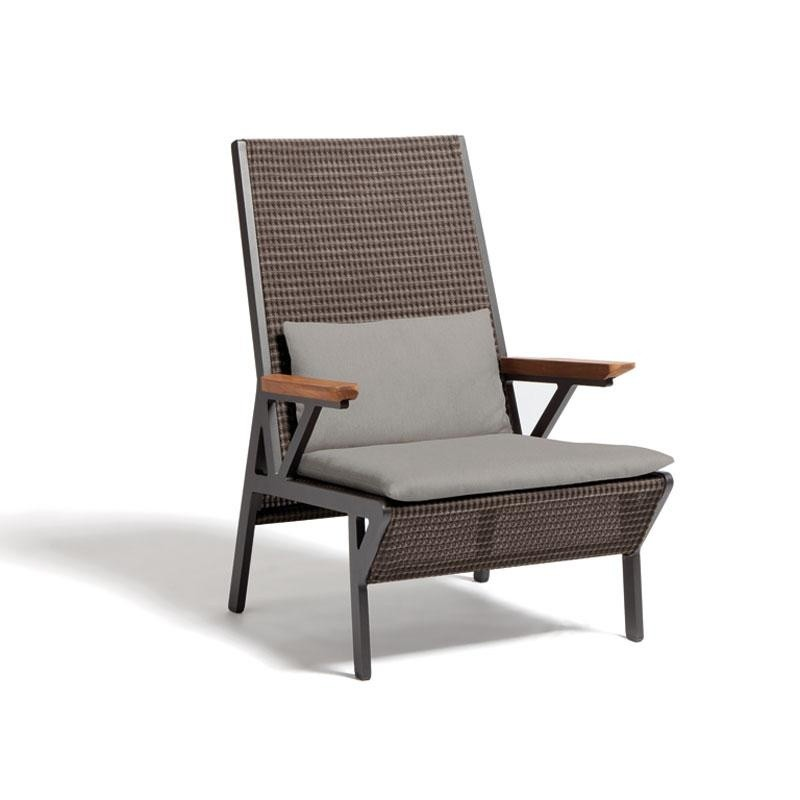 Outdoor Furniture: Kettal: Vieques Collection: Vieques Modern Outdoor Club Chair