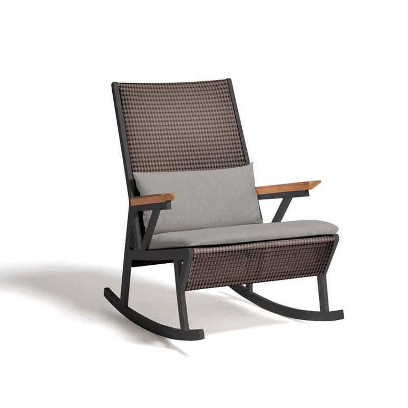 Vieques Modern Outdoor Rocking Chair