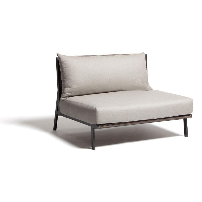 Outdoor Furniture: Kettal: Vieques Collection: Vieques Modern Outdoor Sectional Center Module