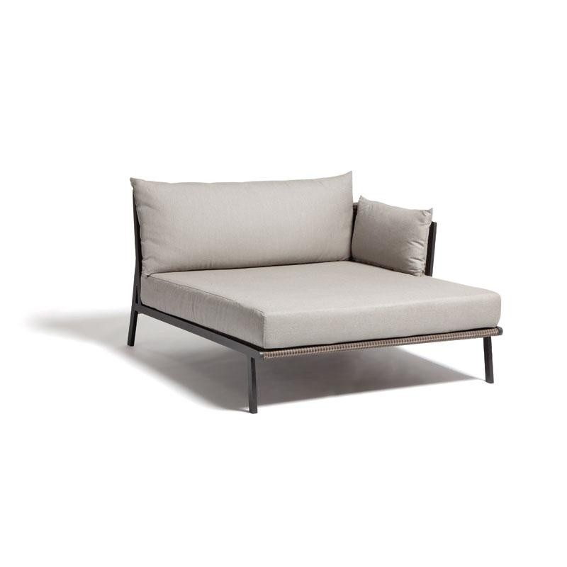 Vieques Modern Outdoor Sectional Left Chaise Module