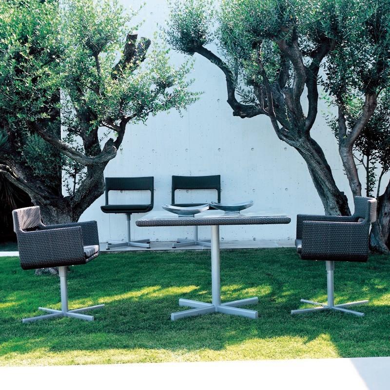 Wicker Outdoor Dining Furniture on Wicker Dining Sets   Kettal Xxl Outdoor Wicker Dining Set 5 Piece