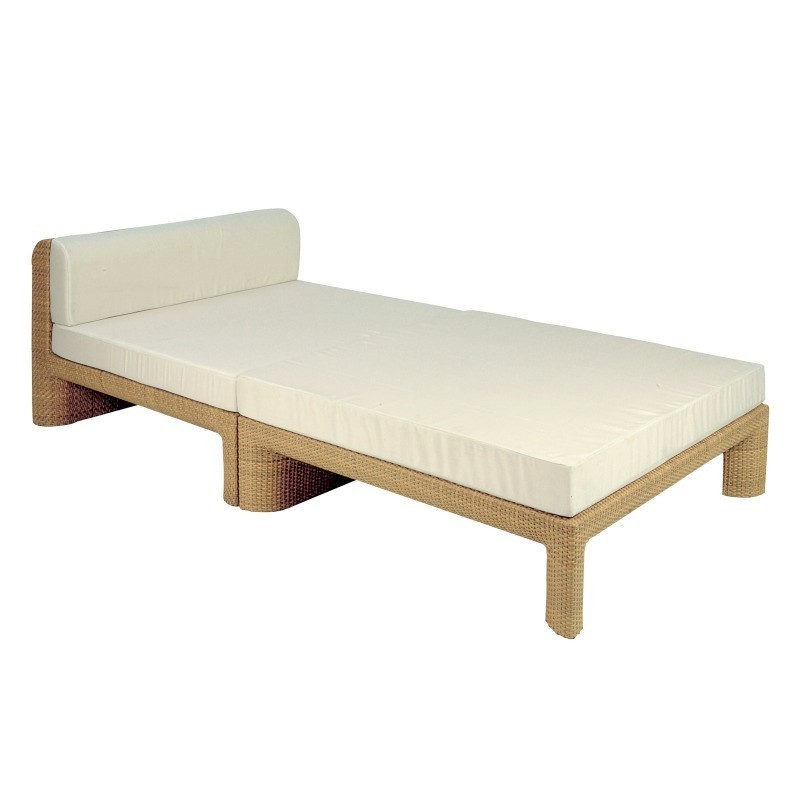 Xxl Commercial Deepseating Center Chaise Lounge
