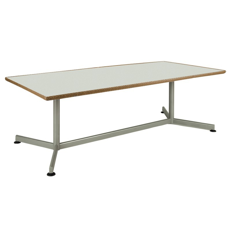Patio Dining Tables Xxl Rectangle Patio Dining Table 82 Inch