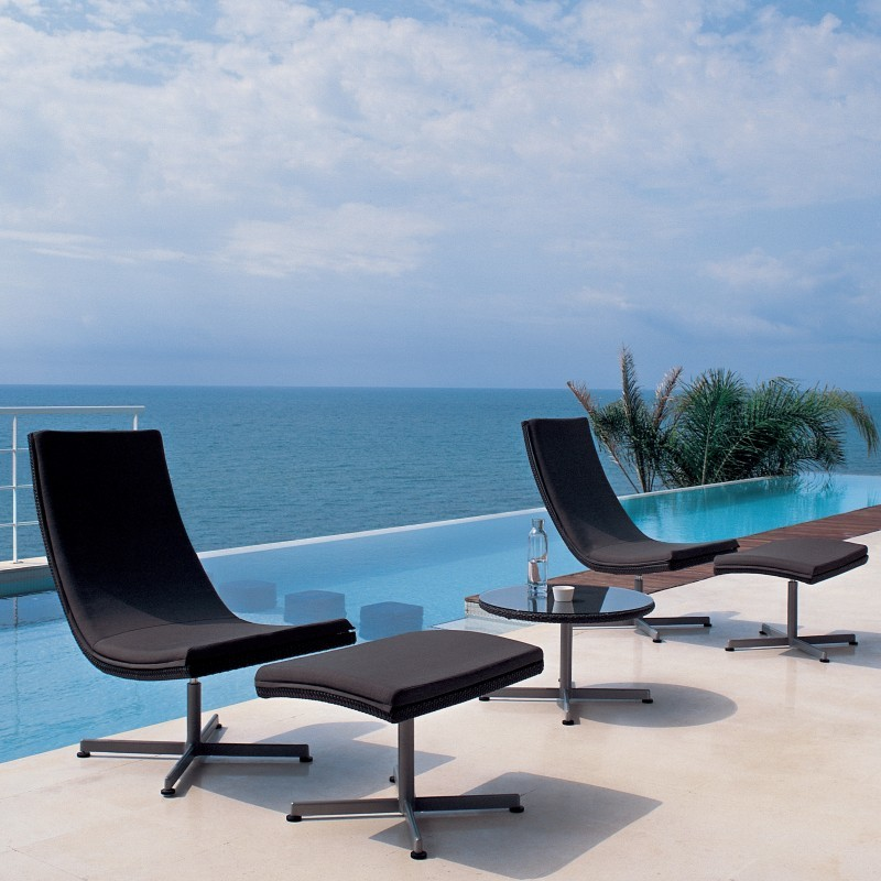 Xxl Wicker Outdoor Lounge Set 5-piece : Pool Furniture Sets