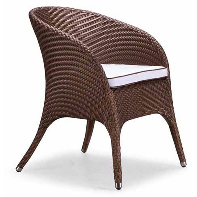 Nuevo Wicker Lotus Outdoor Dining Chair NV HGGA674