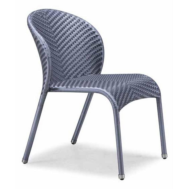Nuevo Wicker Tulip Outdoor Bistro Chair NV HGGA675