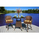Sea Pines 3 Piece Outdoor Bar Set TO-BAR3