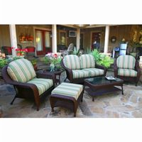 Sea Pines 6 Piece Outdoor Deep Seating Set TO-FN21500