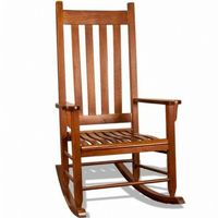 Traditional Wood Rocking Chair Oak TO-TRC-O