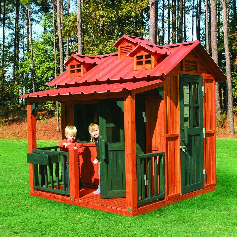 Outdoor Furniture: Tortuga: Breckenridge Outdoor Playhouse