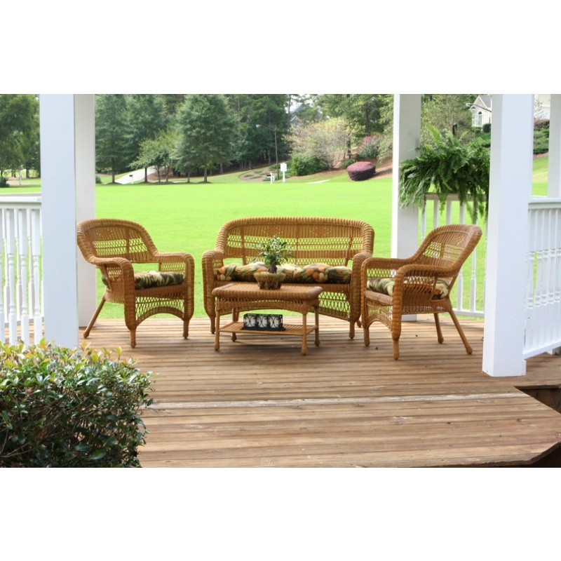Portside Amber 4-Piece Garden Seating Set alternative photo #0