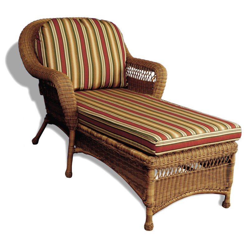 tortuga sanibel round wicker patio chaise lounge with cushion to sanl 001. Black Bedroom Furniture Sets. Home Design Ideas