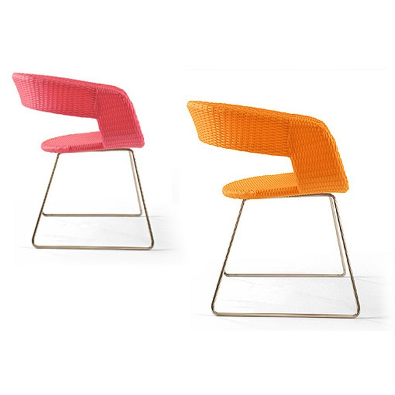 Lebello Chair-6 Open Outdoor Chair : Outdoor Chairs