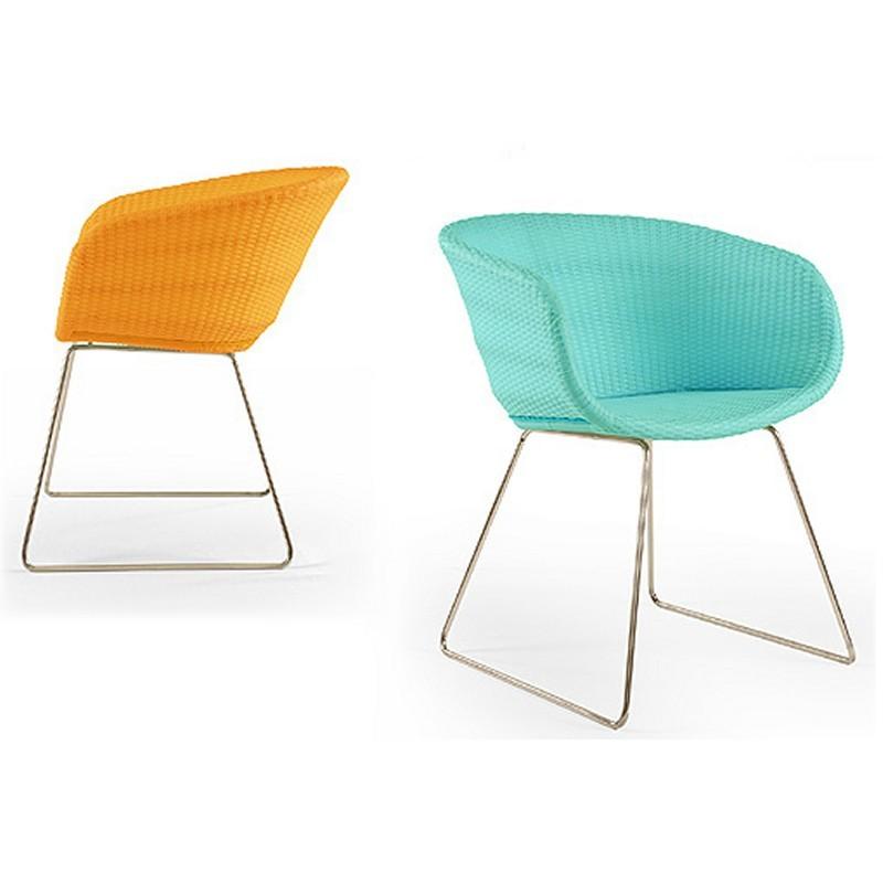 Contemporary Wicker Outdoor Furniture on Wicker Dining Chairs   Lebello Chair 6 Contemporary Outdoor Wicker
