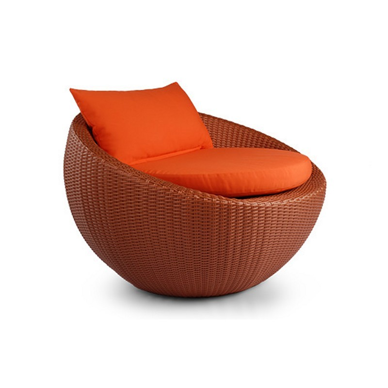 Lebello Circle Outdoor Club Chair : Patio Chairs