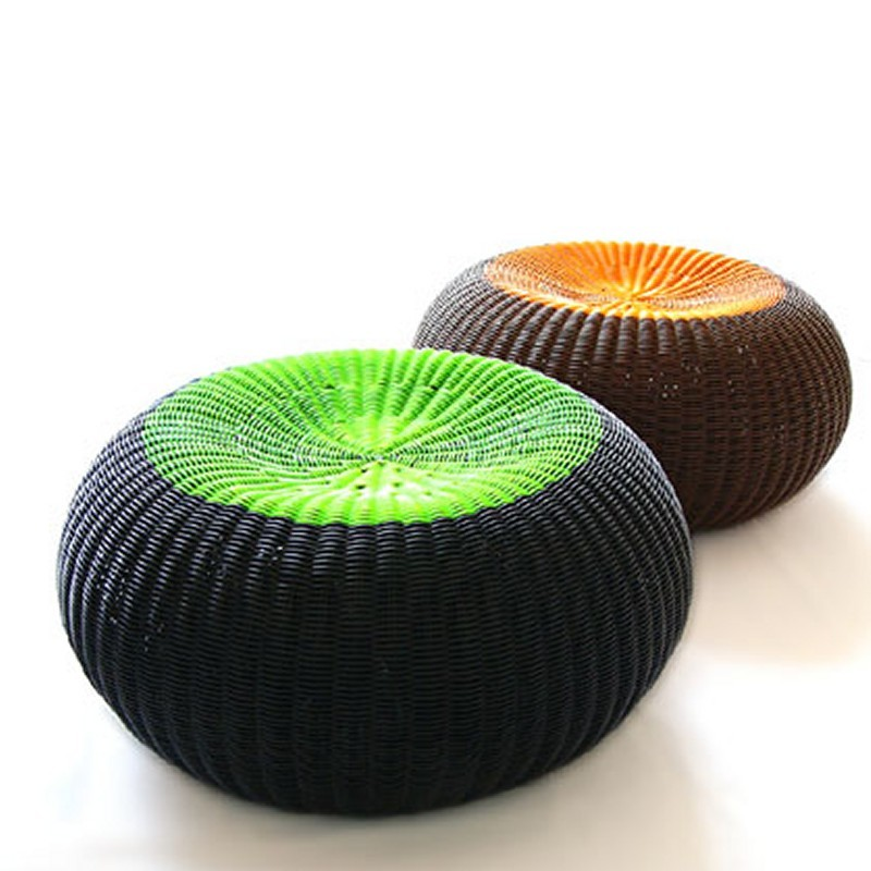 Outdoor Furniture: Footstools: Lebello Spinball Outdoor Stool
