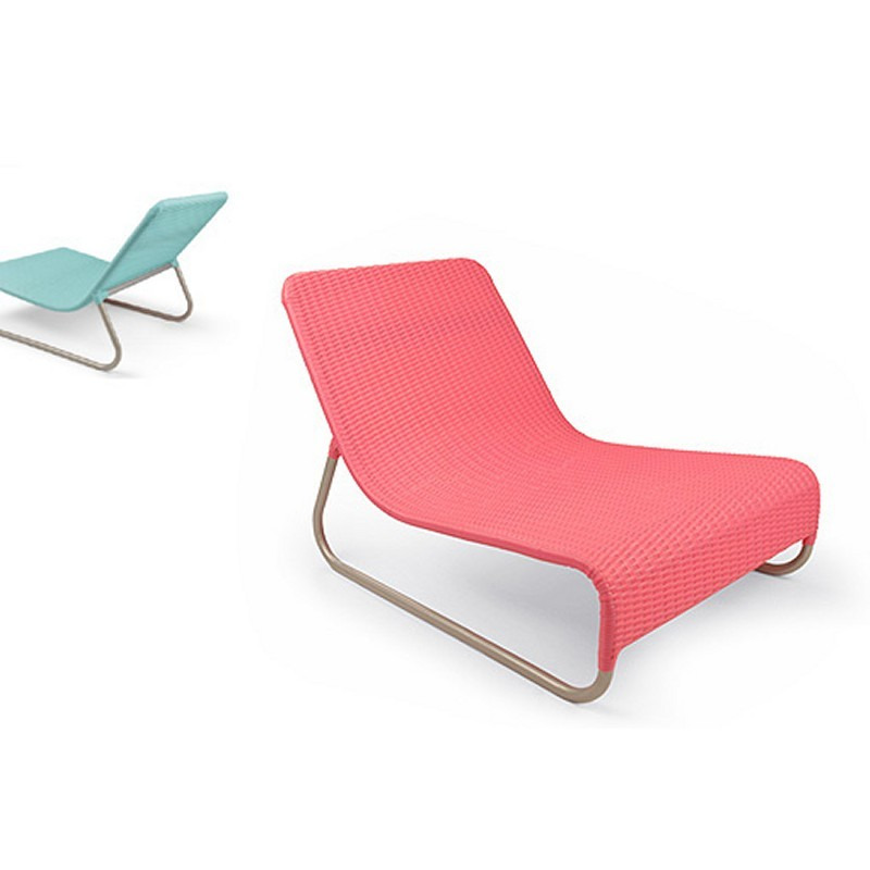 Lebello Sunny Outdoor Wicker Lounge Chair LE SY1