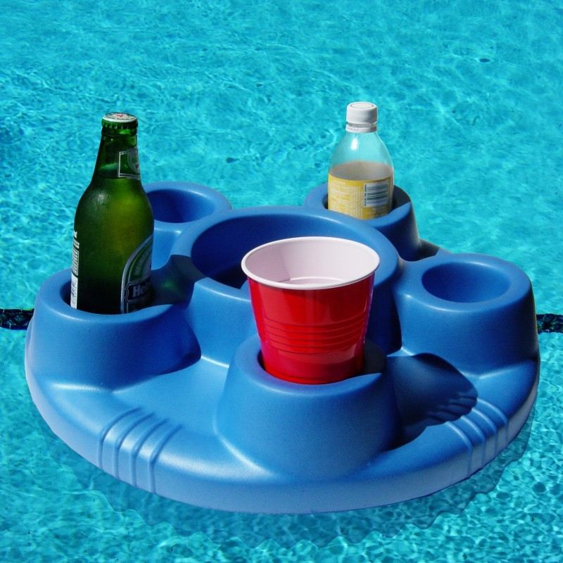 Floating Beverage and Snack Tray