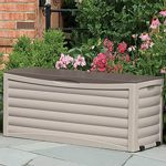 Extra Large Outdoor Storage Box 103 Gallons