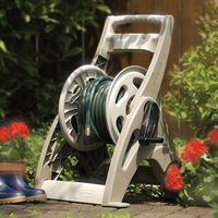 Hose reels, suncast, automatic, decorative