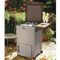 Pool Patio Cooler Station with Leaf SUDCC3000