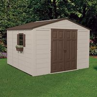 Storage Building Shed 625 Cubic Feet with Windows SUA01B28C03