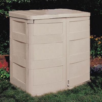 Horizontal Garden Storage Shed 45 Cubic Feet