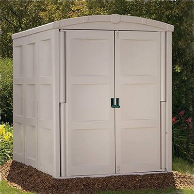 Large Storage Shed 208 Cubic Feet & Large Storage Shed 208 Cubic Feet SUGS9000 | CozyDays