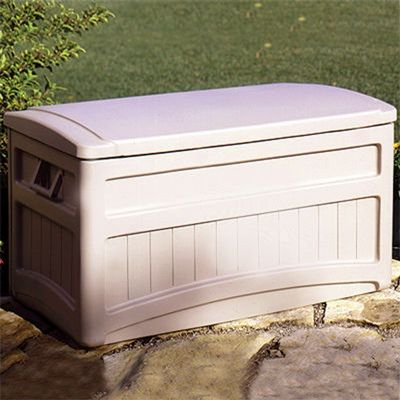 Outdoor Storage Deck Box 73 Gallons w/ wheels SUDB7000W