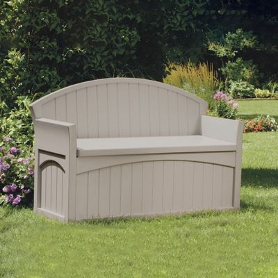Patio Bench Storage Box 50 Gallons Supb6700 Cozydays