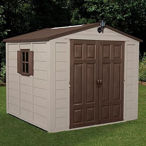 Storage Building Shed 352 Cubic Feet with Windows SUA01B02