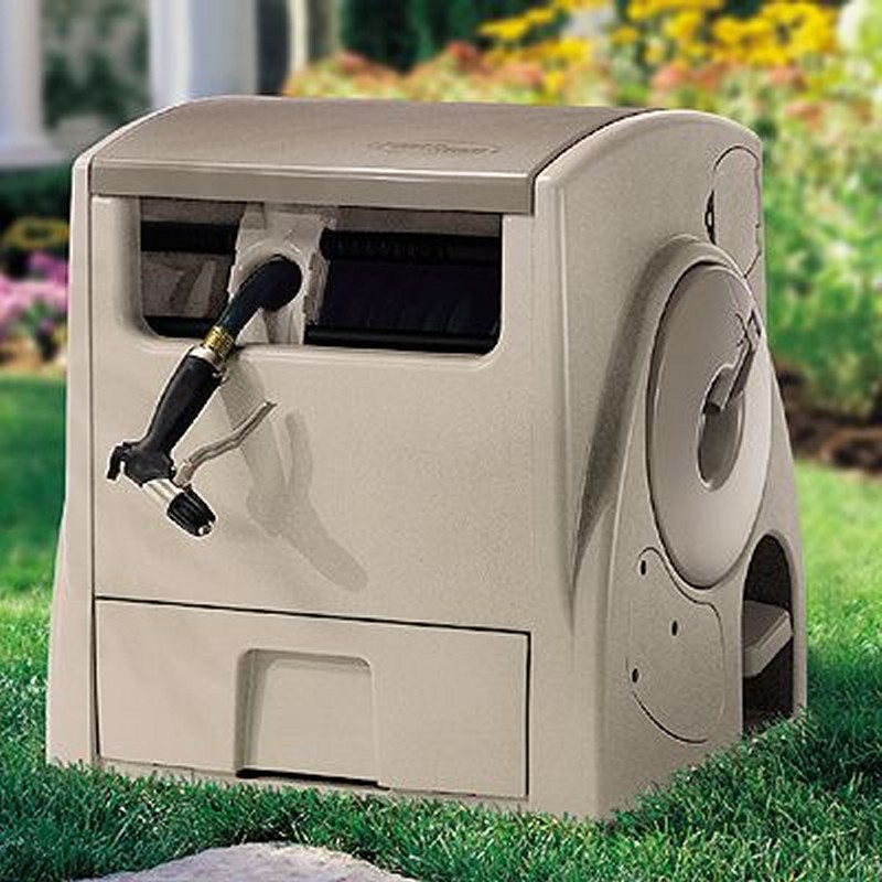 Automatic Garden Hose Reel PowerWind Motor-Driven