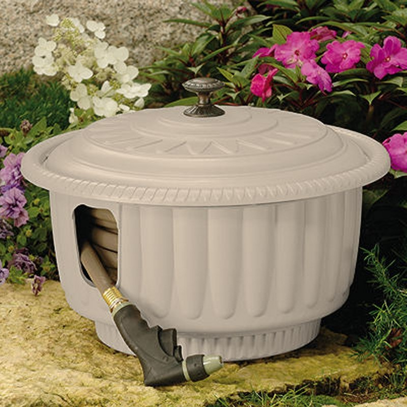 Decorative Hose Reel Pot Hideaway