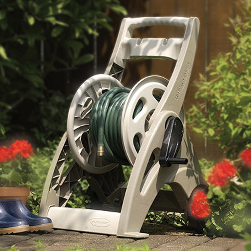 Fully Assembled Sheds: Garden Hose Reel Cart 175 ft.