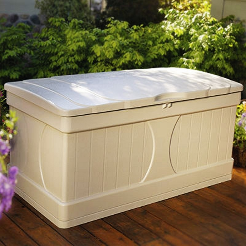 Outdoor Storage Trunk: Deck Box 99 Gallons