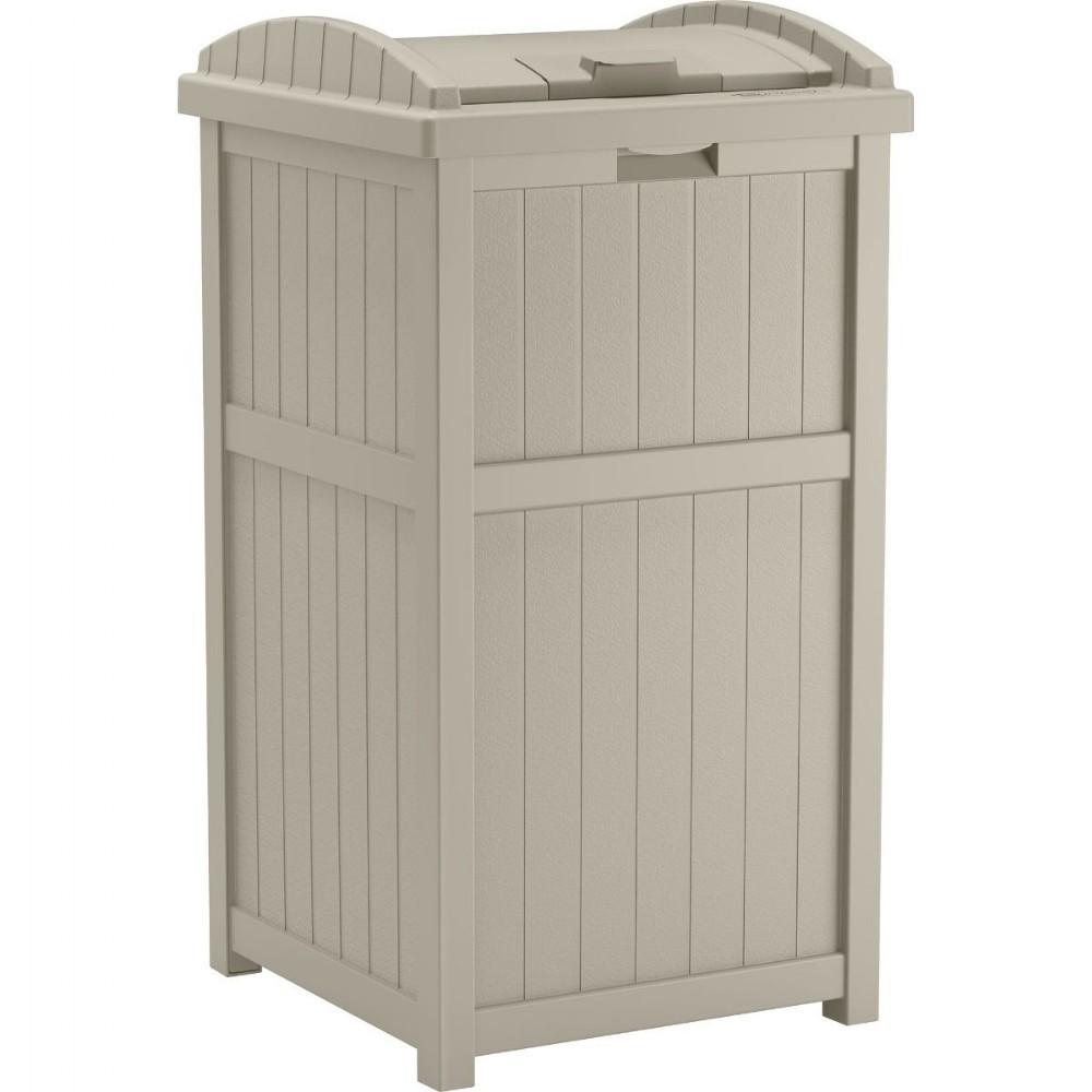 Outdoor Trash Hideaway Garbage Container SUGH1732 | DeckBoxesMart.com