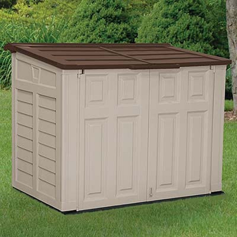 Poll Sheds: Outdoor Utility Shed Small PVC