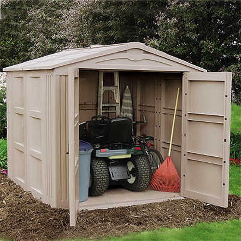 Outdoor Storage Building 310 Cubic Feet alternative photo